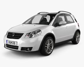 Suzuki (Maruti) SX4 hatchback 2012 3D model