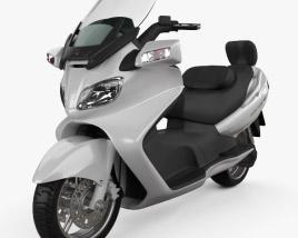 Suzuki Burgman (Skywave) AN650 Executive 2012 3D model