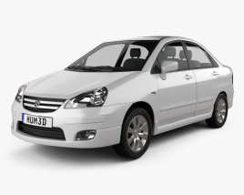 Suzuki Liana sedan 2004 3D model