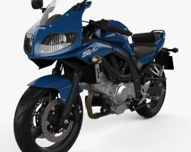 Suzuki SV650S 2015 3D model