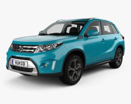 Suzuki Vitara (Escudo) with HQ interior 2015 3D model