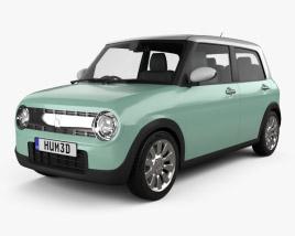 Suzuki Alto Lapin 2015 3D model