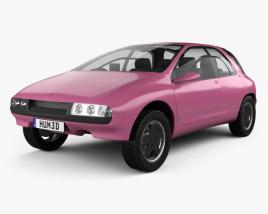 Suzuki Quad Raider Constellation 1989 3D model