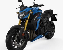 Suzuki GSX-S750 2017 3D model
