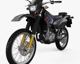 Suzuki DR-Z400S 2017 3D model