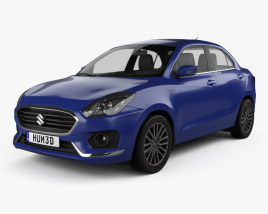 Suzuki (Maruti) Swift Dzire 2017 3D model