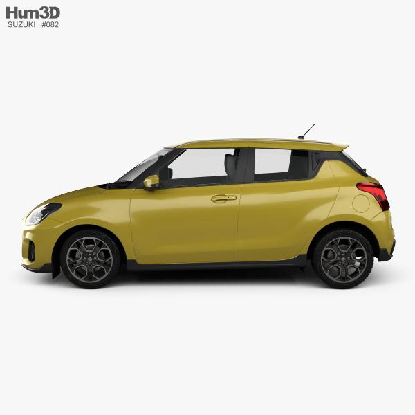 Suzuki Swift Sport: Suzuki Swift Sport 2017 3D Model