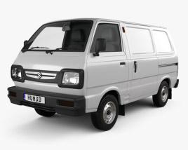Suzuki Omni Cargo Van 2016 3D model