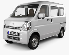 Suzuki Every with HQ interior 2015 3D model
