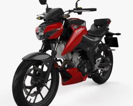 Suzuki GSX-S125 2018 3D model