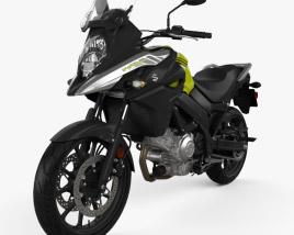 Suzuki V-Strom 650 2020 3D model