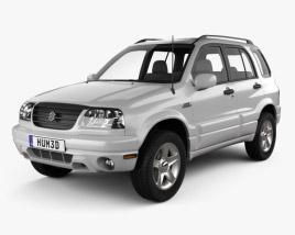 Suzuki Grand Vitara 5-door 2006 3D model