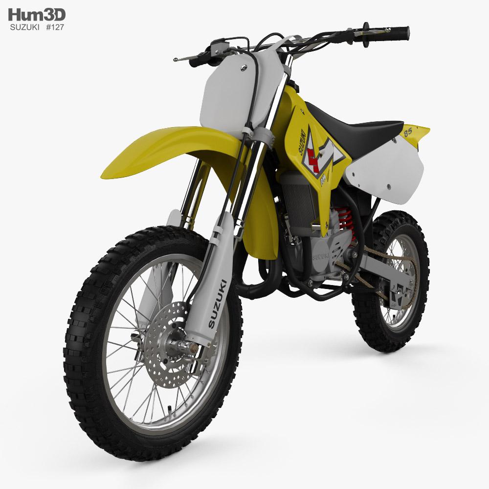 Suzuki RM85 2000 3d model