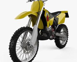 Suzuki RM125 2001 3D model