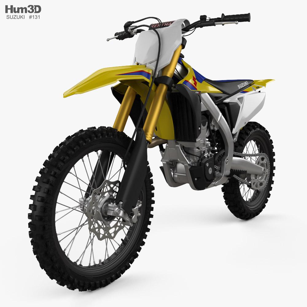 Suzuki RMZ250 2019 3d model