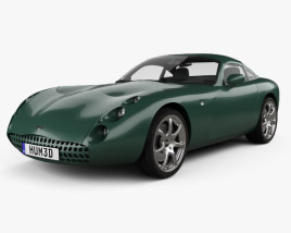TVR Tuscan Speed Six 1999 3D model
