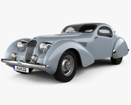 Talbot-Lago Teardrop Coupe 1938 3D model