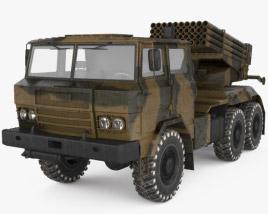 Delta RS-122 MRLS 3D model