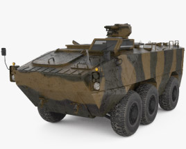Doosan Infracore Black Fox 3D model