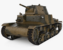 Fiat M13/40 3D model