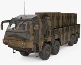 Hyunmoo-2 3D model