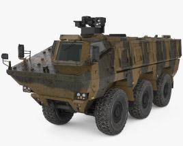 KamAZ-63969 3D model