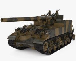 M40 Gun Motor Carriage 3D model