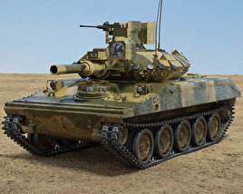 M551 Sheridan 3D model