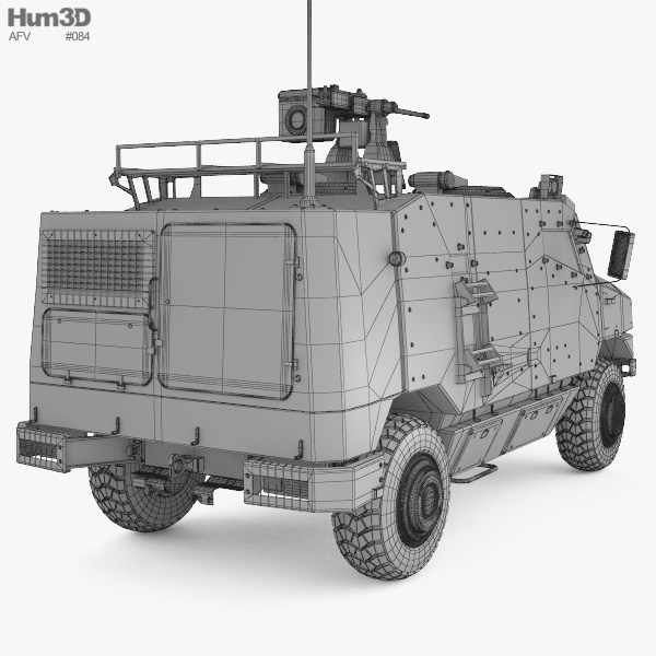 Nexter Aravis 3D model