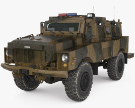 Oshkosh Alpha MRAP 3D model