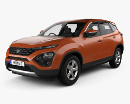 Tata Harrier 2019 3D model