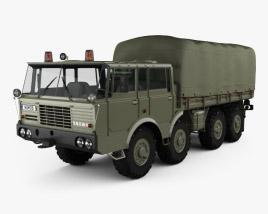 Tatra 813 Double Cab KOLOS Truck 1967 3D model
