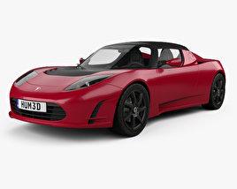 Tesla Roadster 2011 3D model