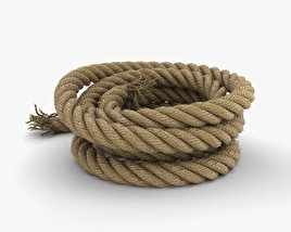 Rope 3D model