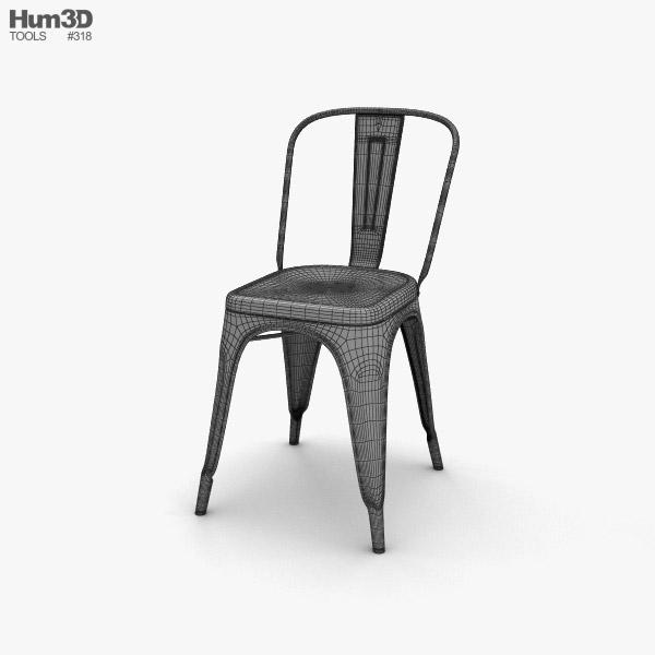 ... Tolix Chair 3d Model ...