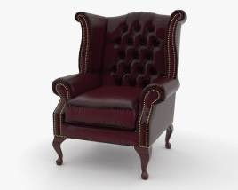 Wingback Chair 3D model