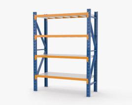 Warehouse Pallet Rack 3D model