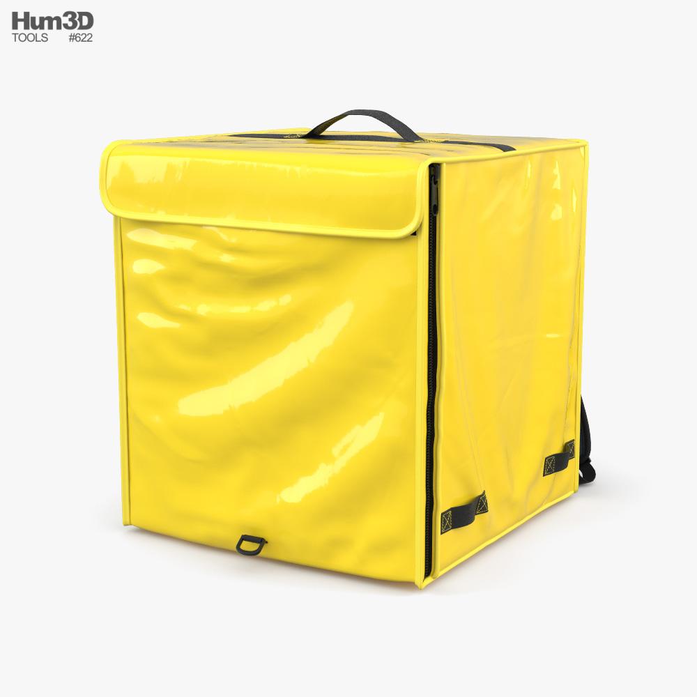 Food Delivery Bag 3d model