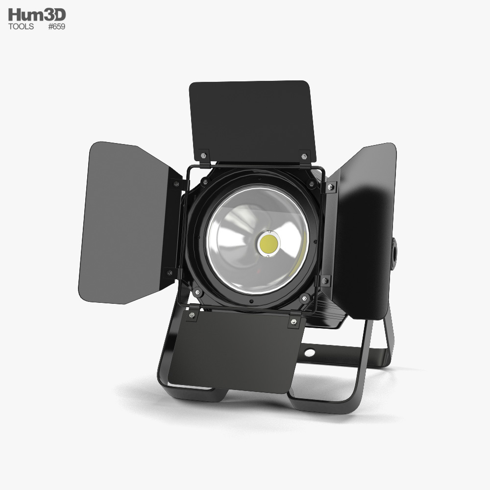 Stage Light 01 3d model