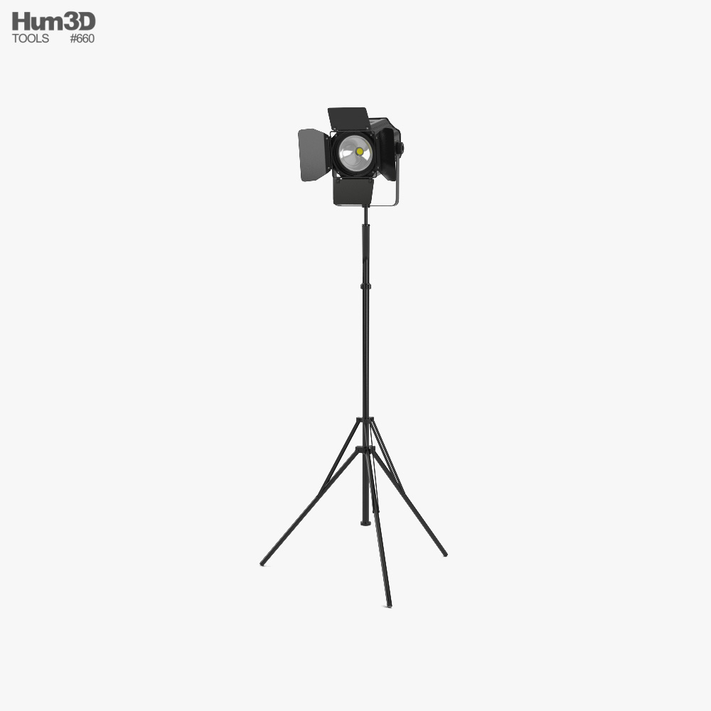Stage Light 02 3d model
