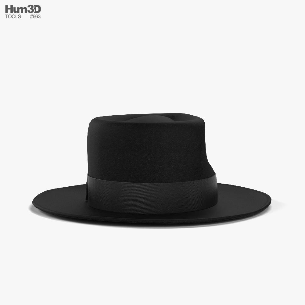 Fedora Hat 3d model
