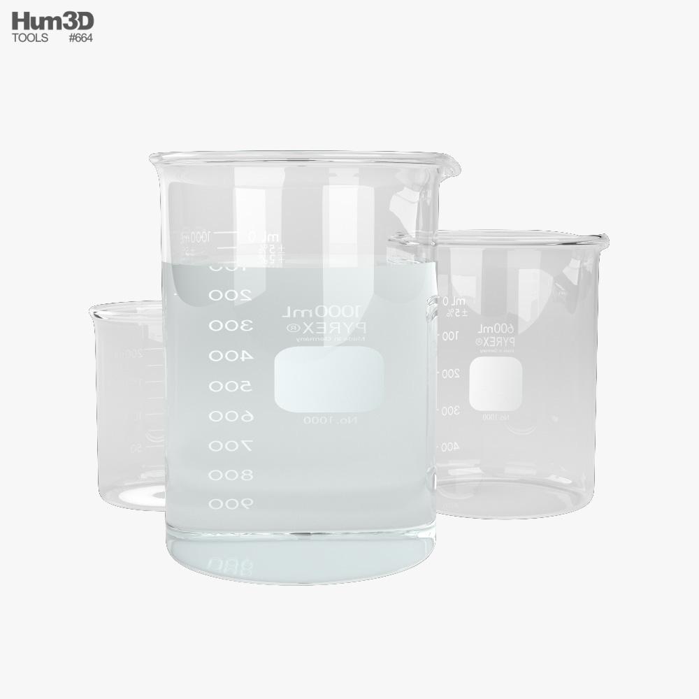 Beaker 3d model