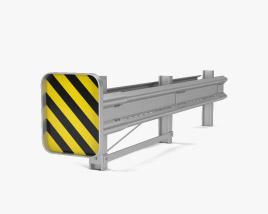 Guardrail 3D model