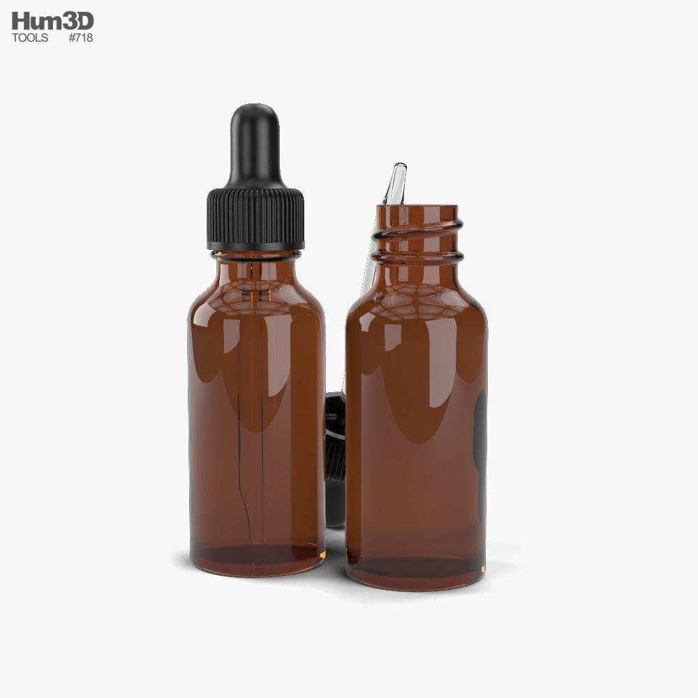 Dropper Bottle 3d model