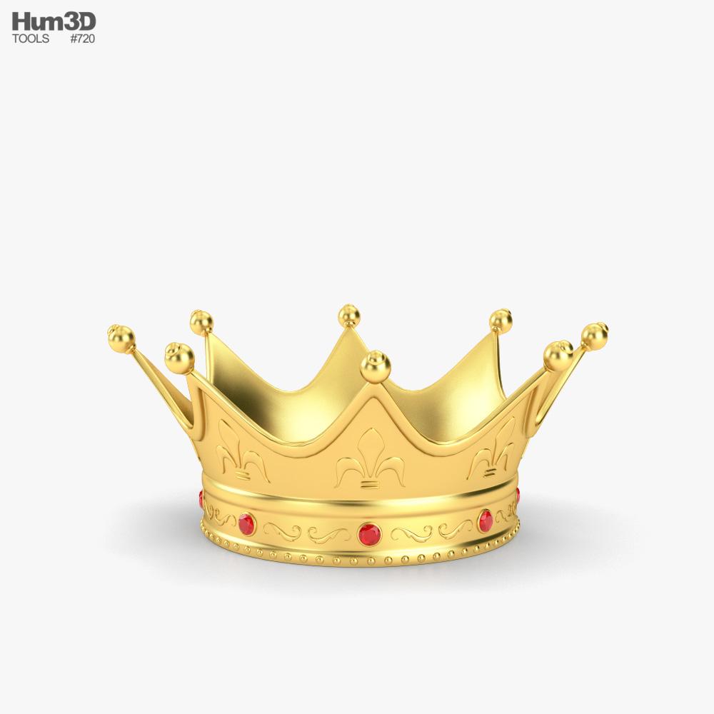 King Crown 3d model