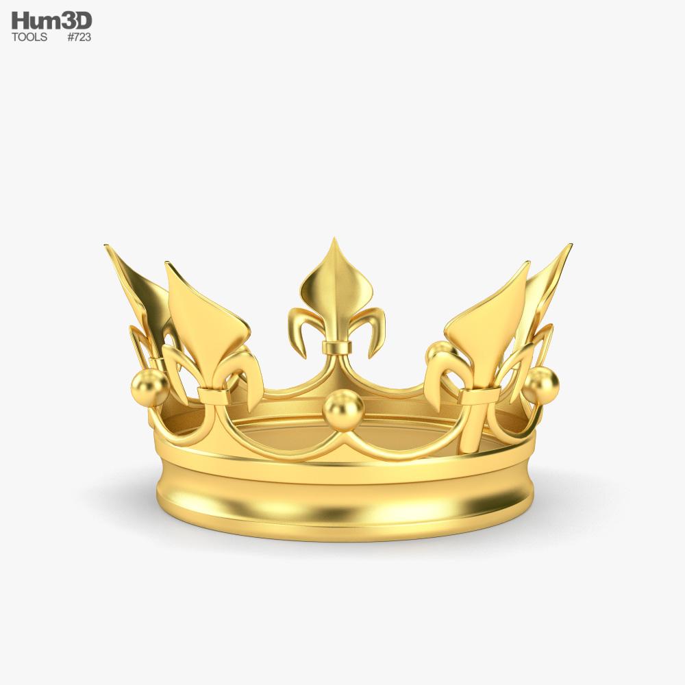 Golden Crown 3d model
