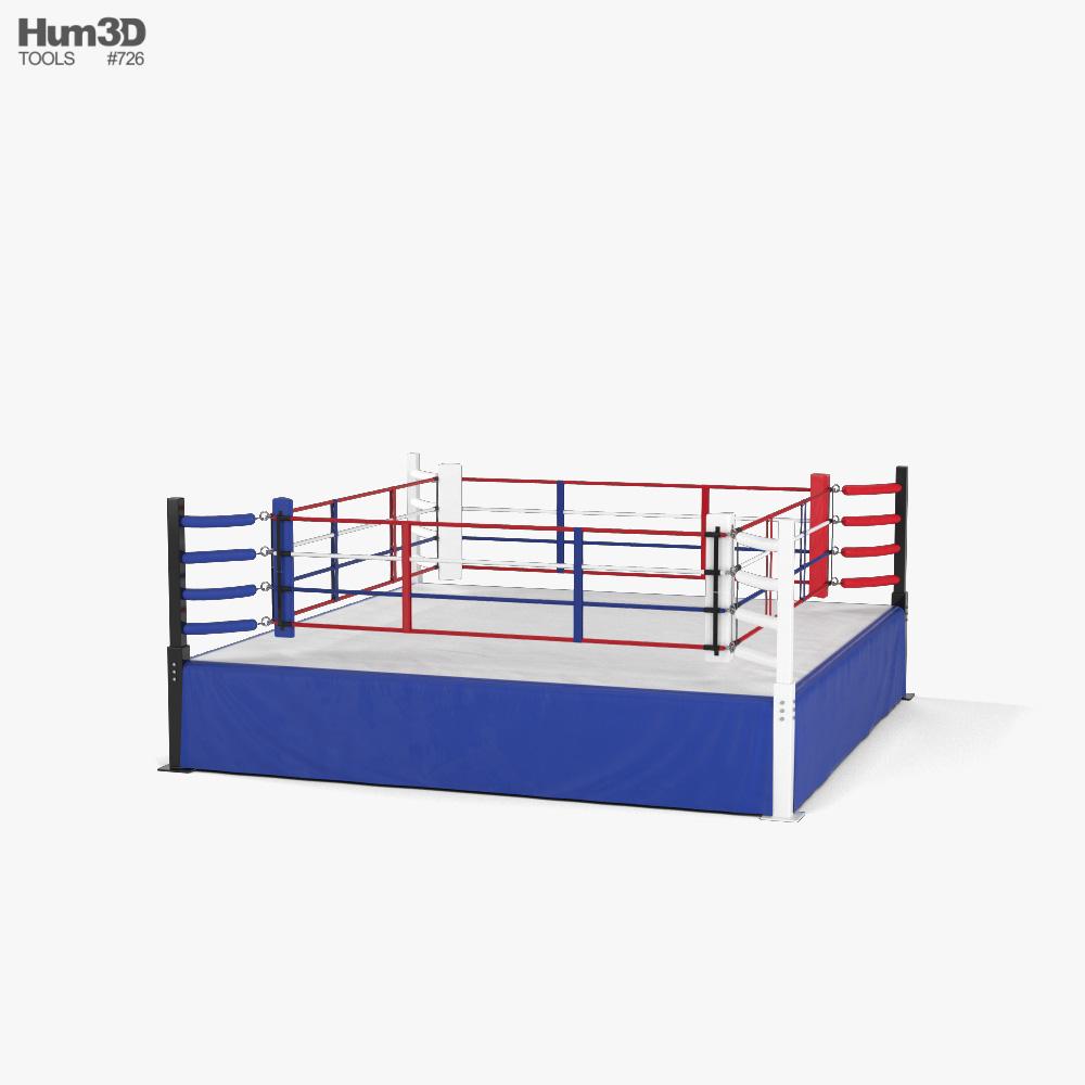 Boxing Ring 3d model