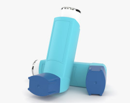 Inhaler 3D model