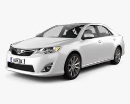 Toyota Camry 2012 US Version 3D model