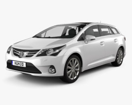 Toyota Avensis Tourer 2012 3D model